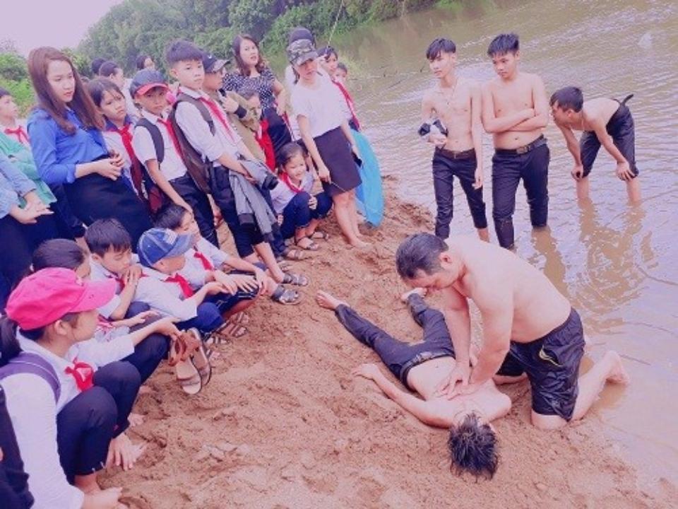 Bắc Trà My: Tích cực tuyên truyền phòng chống đuối nước và tai nạn thương tích trẻ em